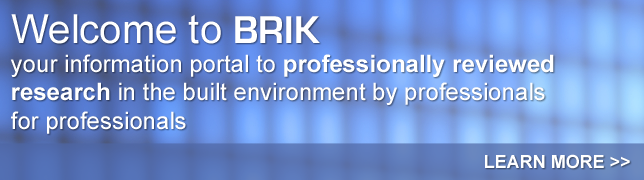 Welcome to BRIK